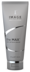 the MAX stem cell facial cleanser